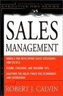 Gerencia de ventas, Modelos para desarrollar estrategias y tácticas de venta, por Robert J. Calvin
