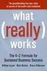 Lo que realmente funciona, La fórmula 4+2 para mantener el éxito en los negocios, por Nitin Nohria, William Joyce