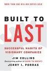 Creadas para durar, Los buenos hábitos de las compañías visionarias, por Jerry Porras, James Collins