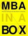 MBA en una caja, Ideas prácticas de las mejores mentes del negocio, por Joel Kurtzman, Victoria Griffith, Glenn Rifkin
