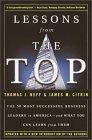 Lecciones desde la cima, En busca de los mejores líderes de negocio de Estados Unidos, por Thomas J. Neff, James Citrin