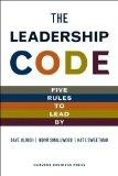 El código del liderazgo, Cinco reglas para liderar, por David Ulrich, Norman Smallwood, Kate Sweetman