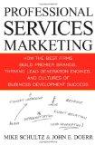 Marketing de servicios profesionales, Cómo las mejores firmas desarrollan marcas de primera, motores de captación de clientes y culturas de desarrollo comercial exitosas, por Mike Schultz, John Doerr