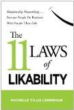 Las 11 leyes de la agradabilidad, Networking relacional...porque la gente hace negocios con gente que le gusta, por  Michelle  Tillis Lederman