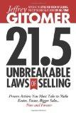 Las 21.5 reglas inviolables de las ventas , Todo lo que debemos hacer para que las ventas sean más fáciles y rápidas ahora y por siempre, por Jeffrey Gitomer