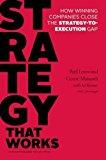 Estrategia que Funciona, Cómo las empresas ganadoras cierran la brecha entre estrategia y ejecución, por Paul  Leinwand, Cesare R. Mainardi